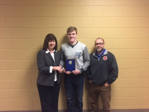 January - Athlete of the Month Jan Runkle, Seth, Coach Pittroff