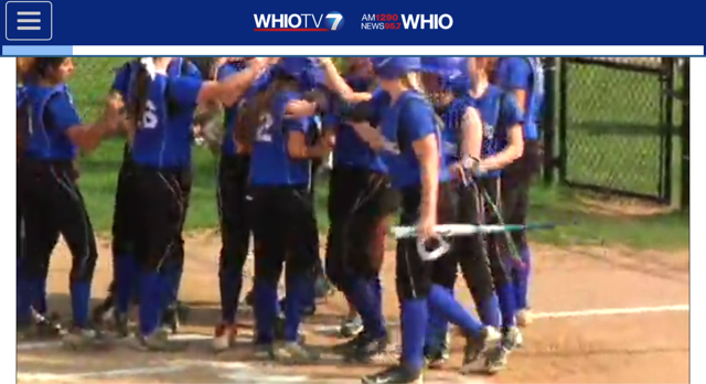 Miamisburg Varsity Softball 11-1 (Ranked 4th in the State)