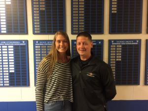 Athlete of the Week Lexie Rang & Steve Wenclewicz