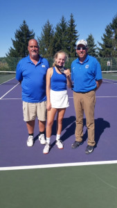 Coach Ridley, Mikenzie Hindenlang, Coach Hindenlang