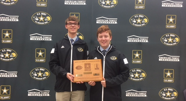 Two Band Students Selected to All-American Band – 11/7