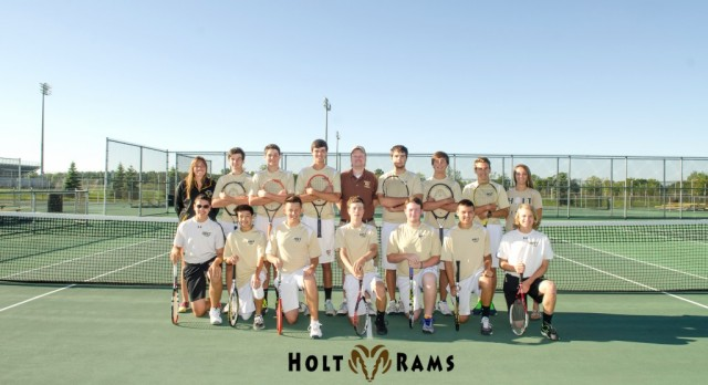 Holt Varsity Boys Tennis Continues Great Season – Qualifies for the State Finals