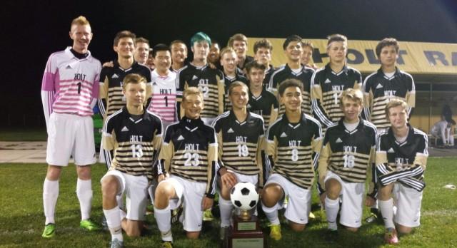 Boys Varsity Soccer wins the CAAC Silver Cup