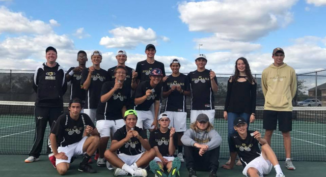Holt Tennis Claims Share of CAAC Blue Tournament Championship