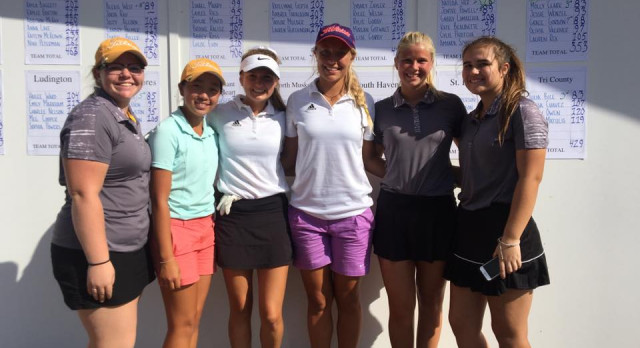 Girls Golf Finishes Runner-Up at Tullymore Invite, Nateda Her Tops the Field with 76