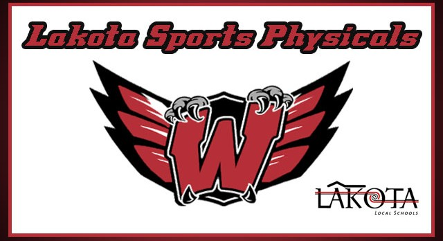 Lakota Sports Physicals – Please Read