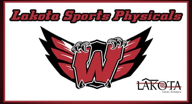 Lakota Sports Physicals – Please Read