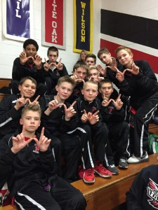 2015 Ridge 7th grade Boys Basketball