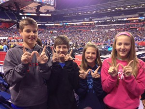 Future Firebirds showing their W's at Final Four weekend!