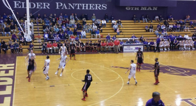 Boys Basketball Falls Short to Elder in the Pitt 66-63