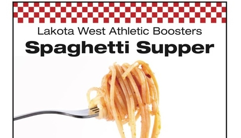 Booster Spaghetti Dinner; Friday, January 10th