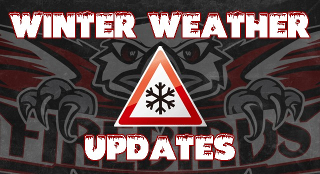 Winter Weather Updates, Delays or Changes in Schedule (2/9/16)