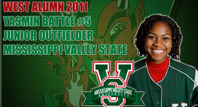 Alumni Softball:Yasmin Battle Enjoying Success Going into 3rd Season at MVSU