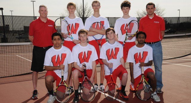 Boys Tennis Finish 3rd at GMC Championships