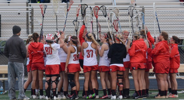 Girls Lacrosse stay Undefeated beating Anderson 14-13! (Pics)