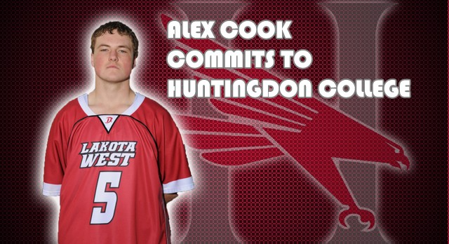 Lacrosse: Alex Cook Commits to Huntingdon College
