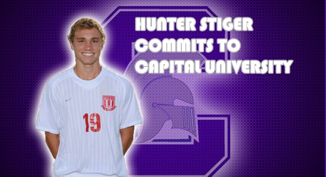 Boys Soccer: Hunter Stiger Commits to Capital University