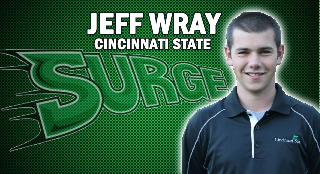 Alumn: Jeff Wray Leads Cincinnati State to a 3rd Place Finish!