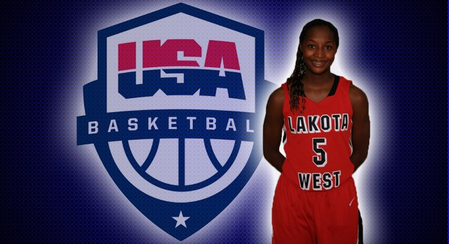 Nia Staples focused on 2015 Team USA Tryouts