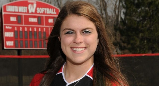 Softball: Ashley Sharp Named All-State Third Year in a Row