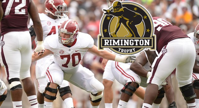 Alumni: Ryan Kelly|Alabama, C: 2014 Rimington Trophy Watchlist!