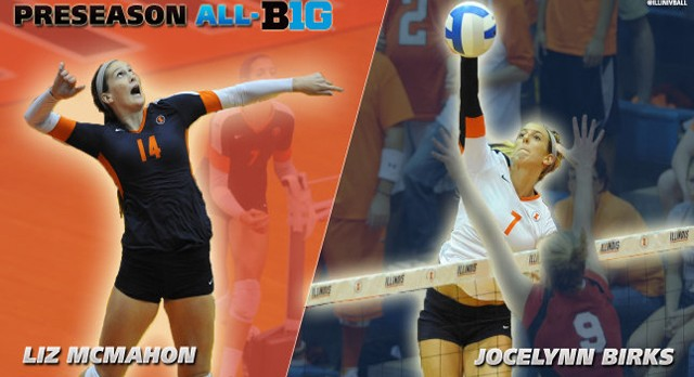 Alumni: Liz McMahon Named Preseason All-Big Ten