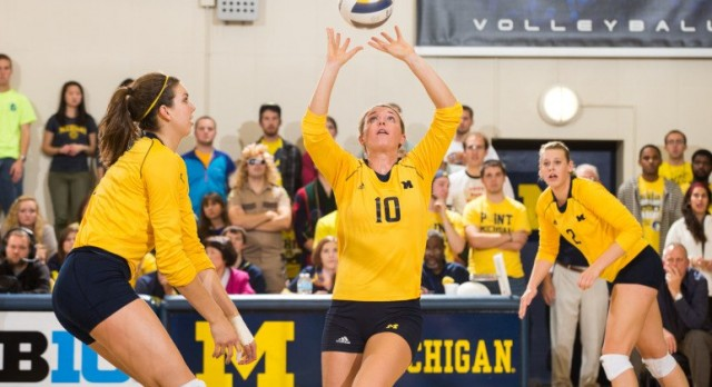 Alumni: Lexi Dannemiller Listed on Preseason All-Big Ten Team