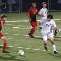 Varsity Boys Soccer Photos vs. St. X (Compliments of Stu Small)