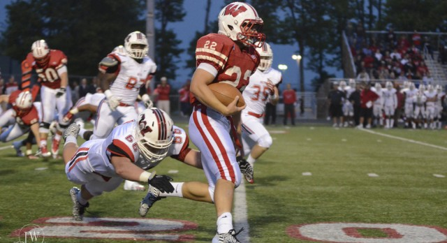 Lakota West Football: Firebirds Come Up Short Against Wayne Warriors