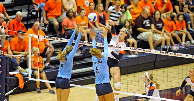Alumni: McMahon Named Big Ten Volleyball Player of the Week