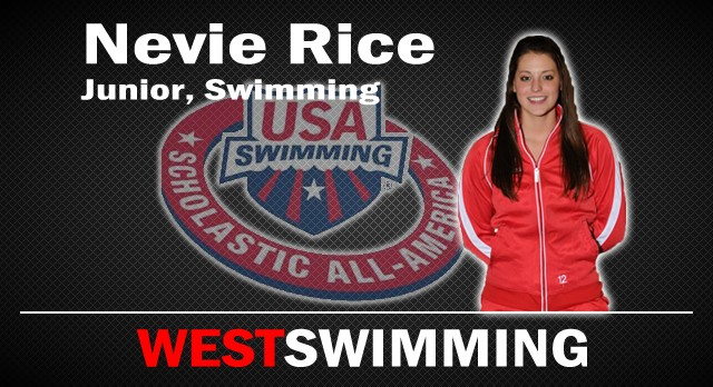 Lakota West Swimming: Nevie Rice Named Academic All-American