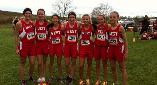 Lakota West XC: Girls Win First District Championship in School History; Oeters Advances for Boys