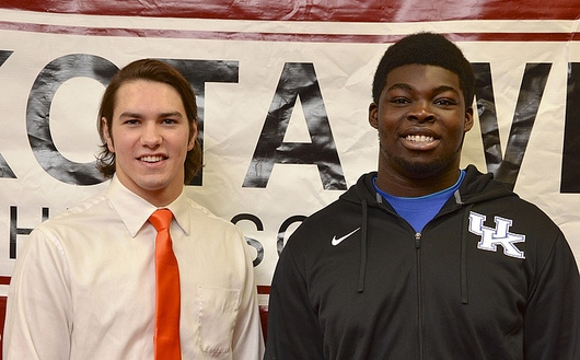 Lakota West Football: Asafo-Adjei and Stalker Sign With Kentucky and Virginia; Start Classes in January