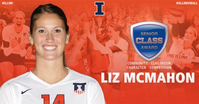 Lakota West Alumni: Liz McMahon Wins Prestigous NCAA Division I Volleyball Senior CLASS Award