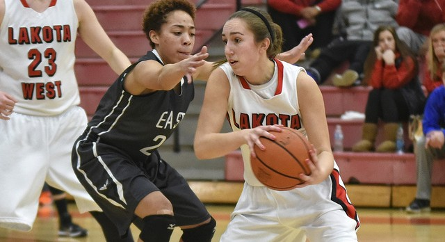 Lakota West Girls Basketball: Hot Shooting Firebirds Complete Sweep of District Rival Lakota East