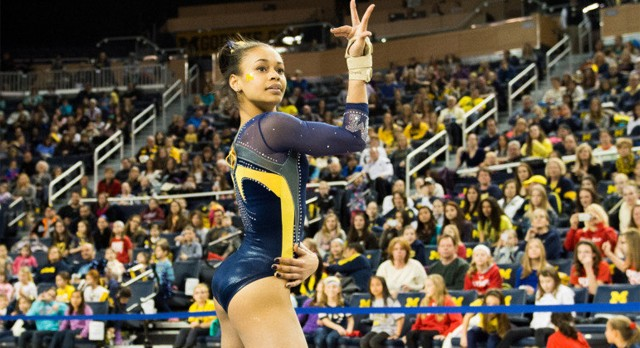 Lakota West Gymnastics Alum: Brianna Brown Collects Big Ten Conference Weekly Honors for the 3rd time!