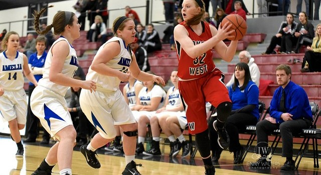 Lakota West Girls Basketball: Firebirds Win Easily in First Playoff Game
