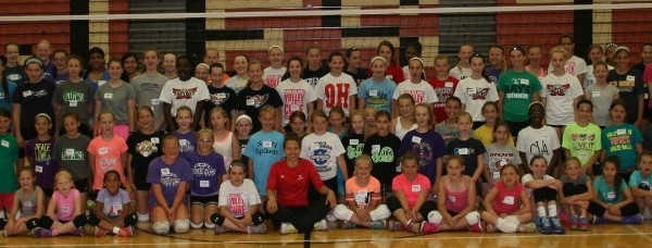 West Volleyball Camp