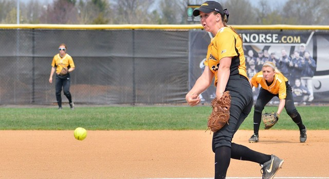 Lakota West Softball Alum: Alex Caudill spun a seven-hit gem for NKU