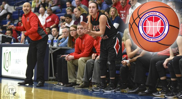 Lakota West Girls Basketball Team, Coach Fishman and Cannatelli Receive OHSBCA State Honors