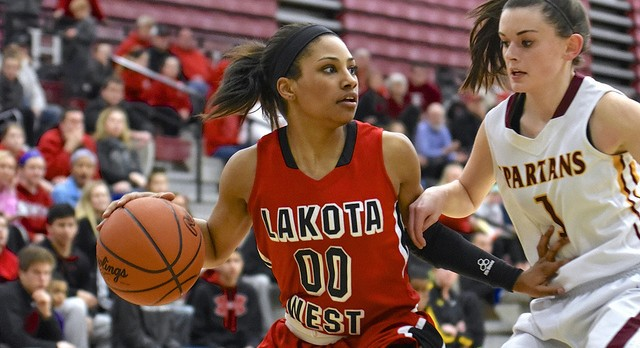 Lakota West Girls Basketball: Firebirds Claim Sectional Title Over Scrappy Turpin Team (Pics)