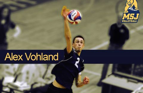 Lakota West Boys Volleyball Alum: Alex Vohland named Lions' first men's volleyball All-American