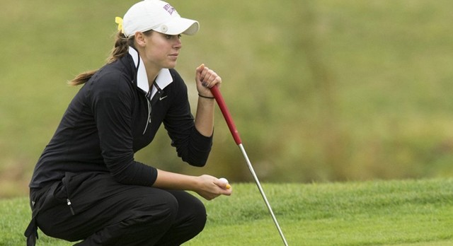 Lakota West Golf Alum: SENIOR ASHLEY JEFFERS FIRED A TEAM-BEST 76 IN THE THIRD ROUND TO LEAD THE LEATHERNECKS