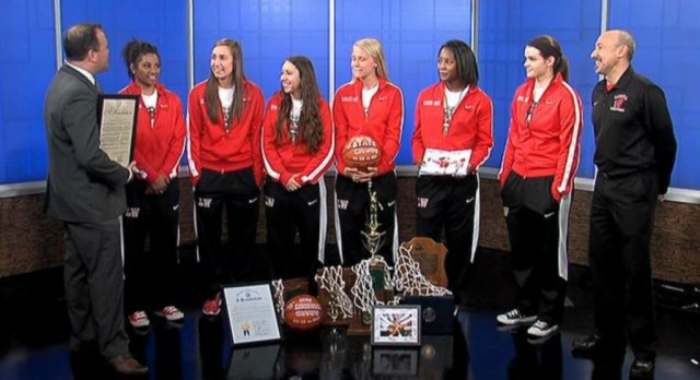 ICYMI: Here's the Video of the Lakota West Girls Basketball Team on Fox 19 in the Morning