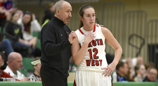 Lakota West Girls Basketball: Lauren Cannatelli and Coach Fishman represent Lakota West at the Ohio North-South All-Star Game!