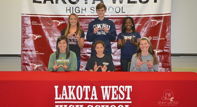 Lakota West Spring Signing Ceremony