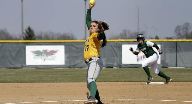 Lakota West Softball Alumni: Ashley Sharp Named Horizon League Pitcher of the Week