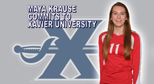 Girls Volleyball: Maya Krause Commits to Xavier University