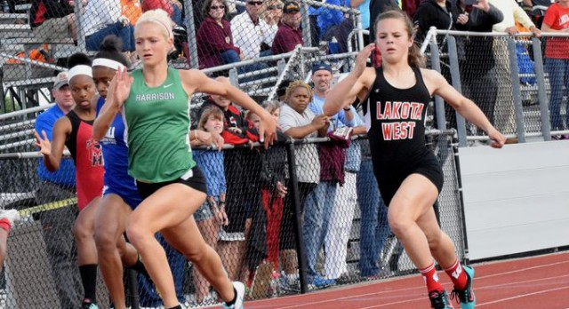 Cincinnati.com: Lakota West Girls Track Takes Districts!