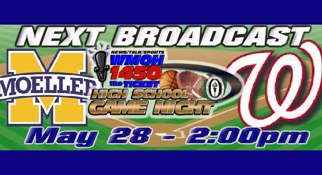Can't make it to the West vs. Moeller Baseball Game? Tune in and Listen at WMOH.com!